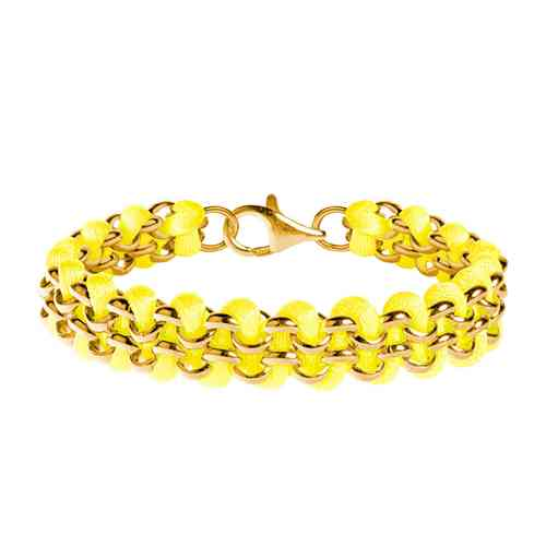 looped gold neonyellow