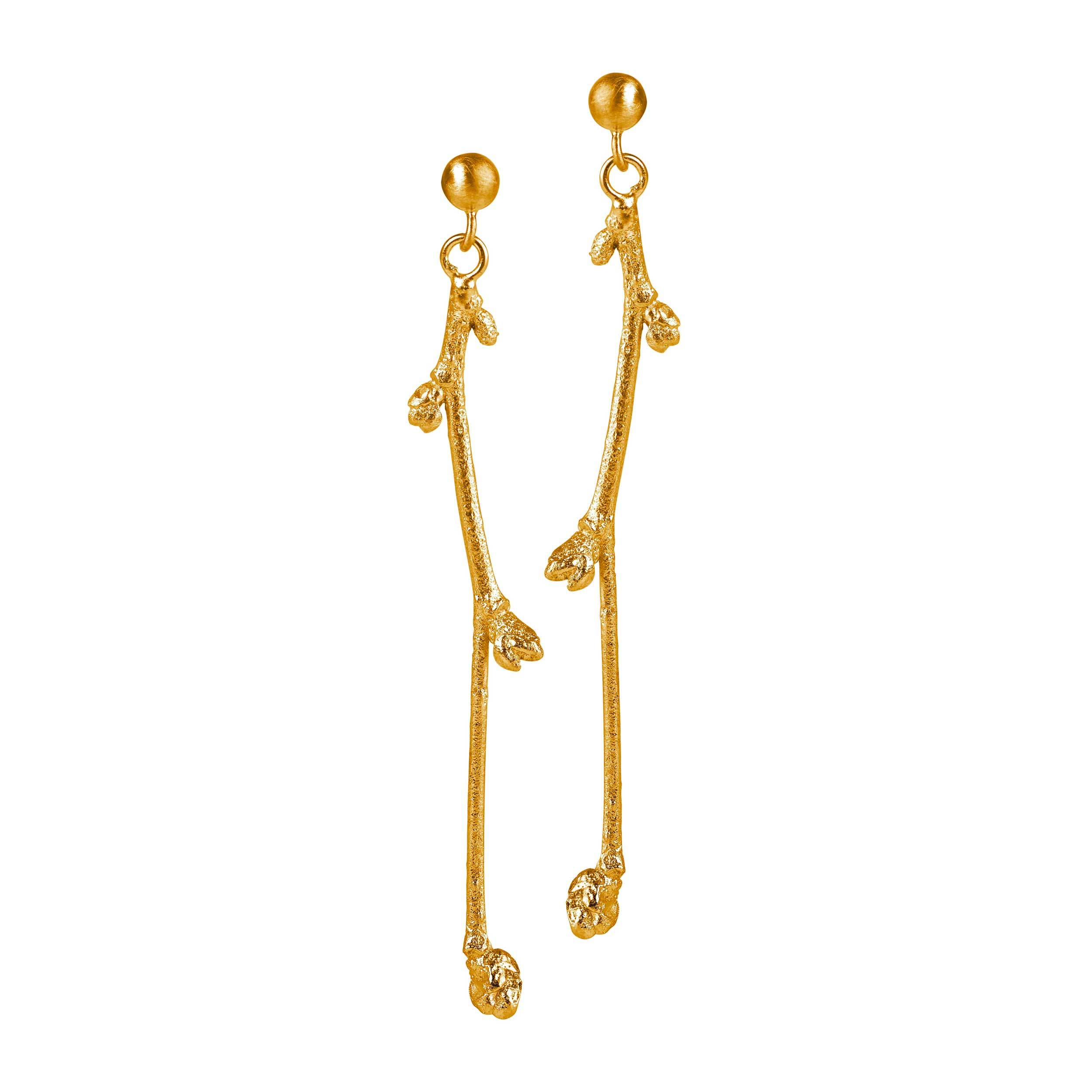 single-branch-earring-gold