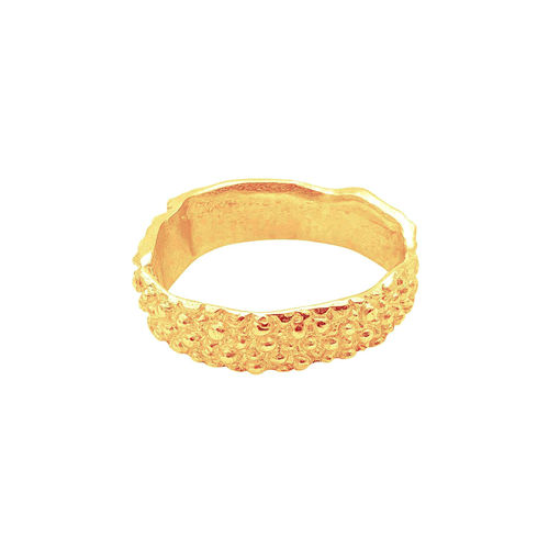 small stingray ring gold